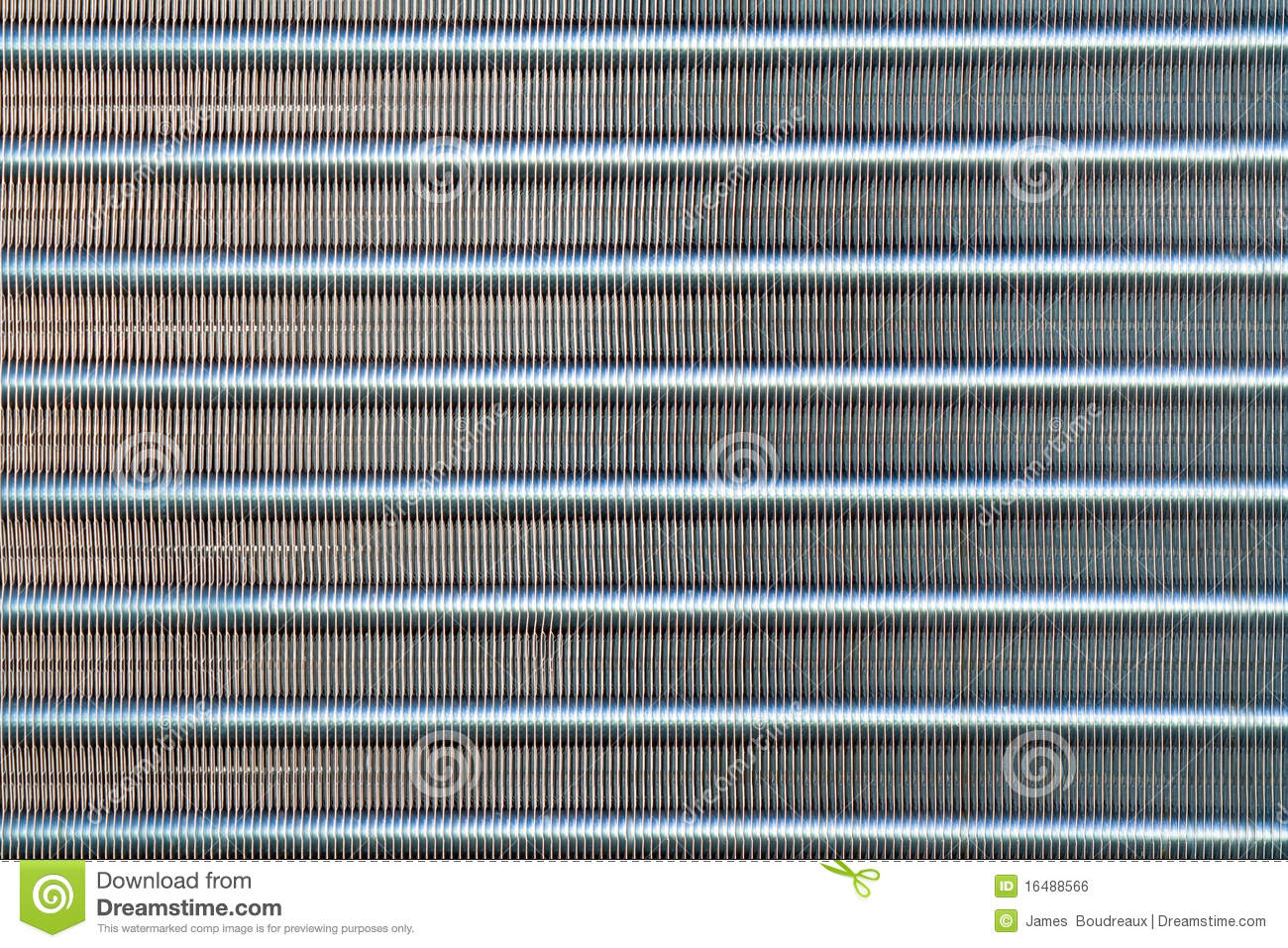 Condensor Coil Closeup Royalty Free Stock Image Image