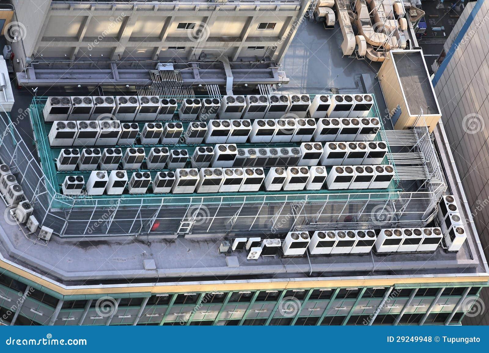 Download Condicionamento De Ar Industrial Foto de Stock - Imagem de respiradouro, alto: 29249948
