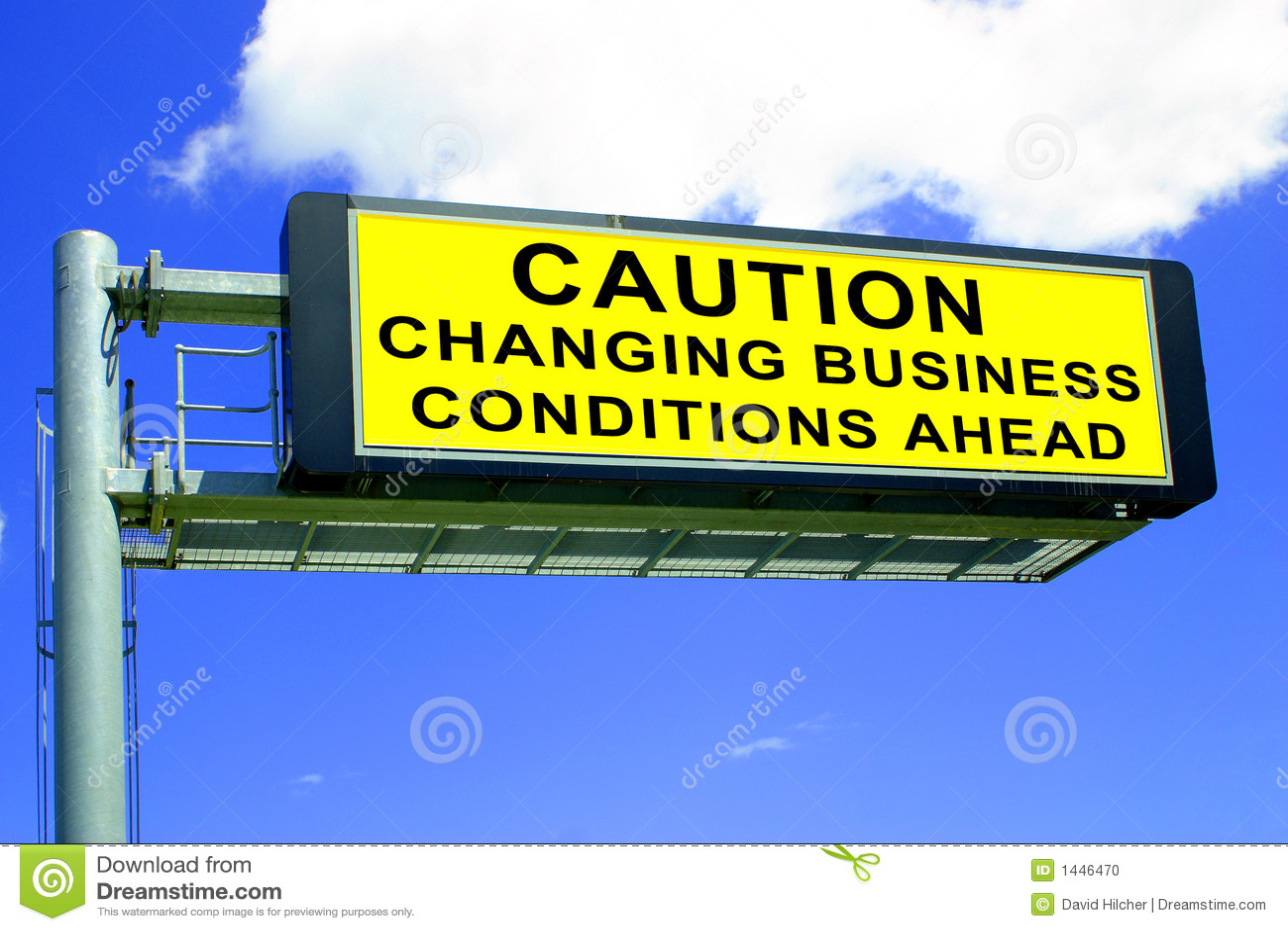 Condiciones de asunto cambiantes