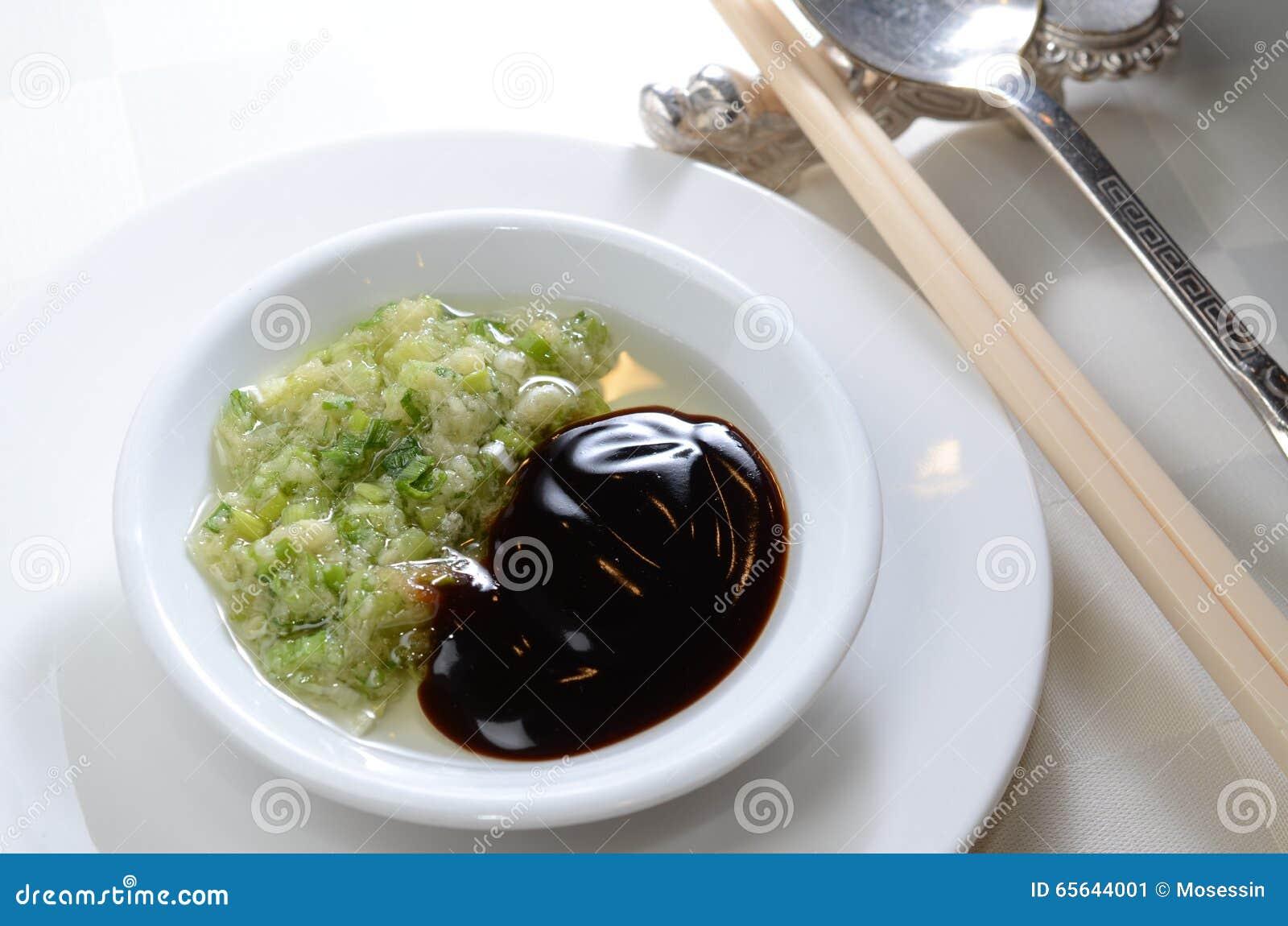 Condiment de gingembre de sauce à huître