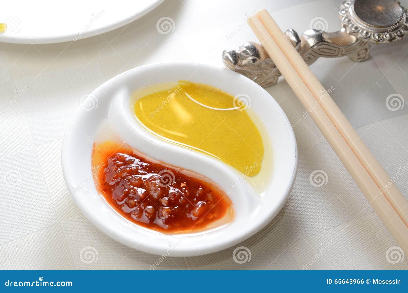 Condiment frais de moutarde