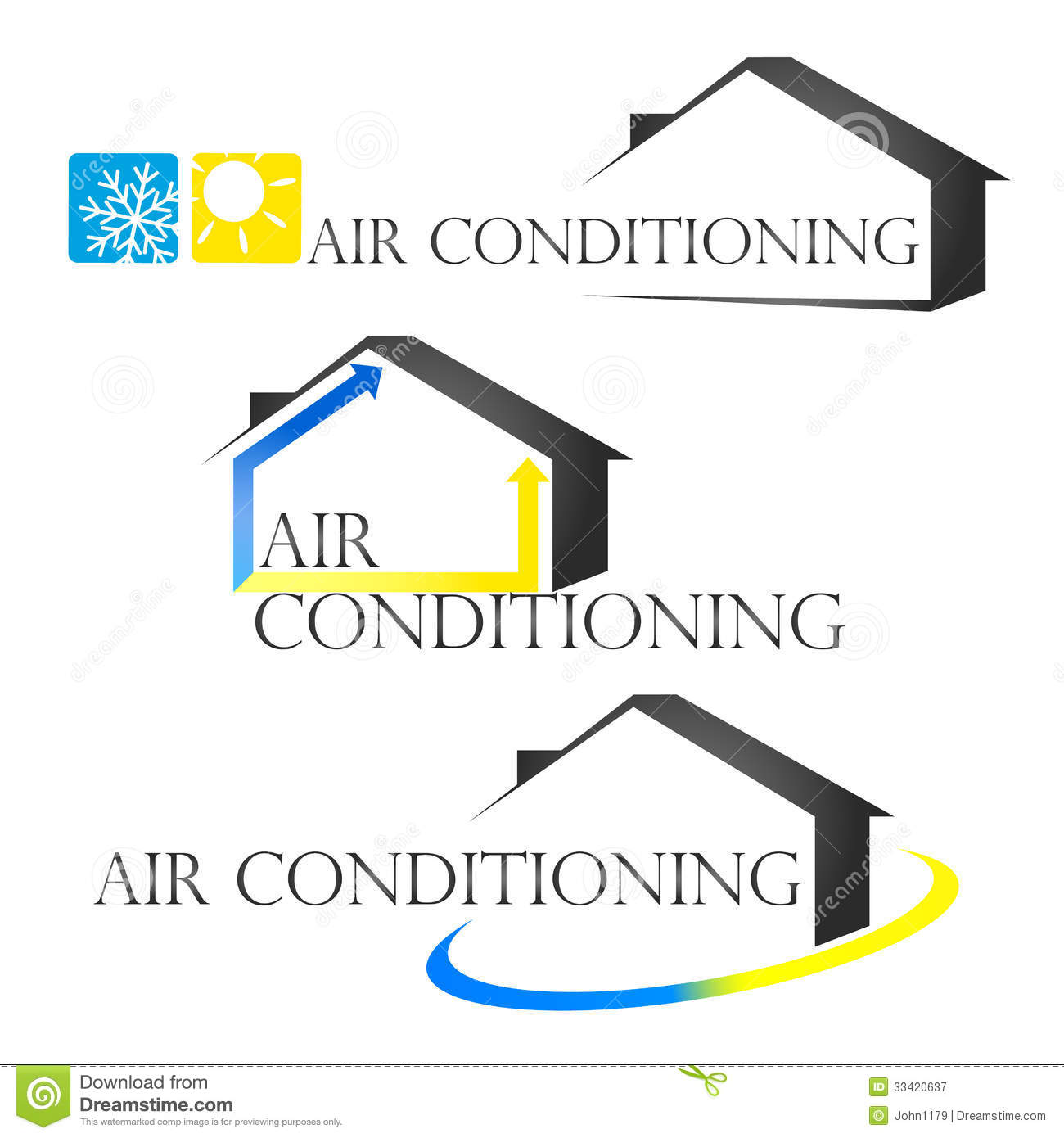 #C8BC03 Conditioning Royalty Free Stock Photography Image: 33420637 Most Effective 8095 Air Conditioner Installer Business pictures with 1300x1390 px on helpvideos.info - Air Conditioners, Air Coolers and more