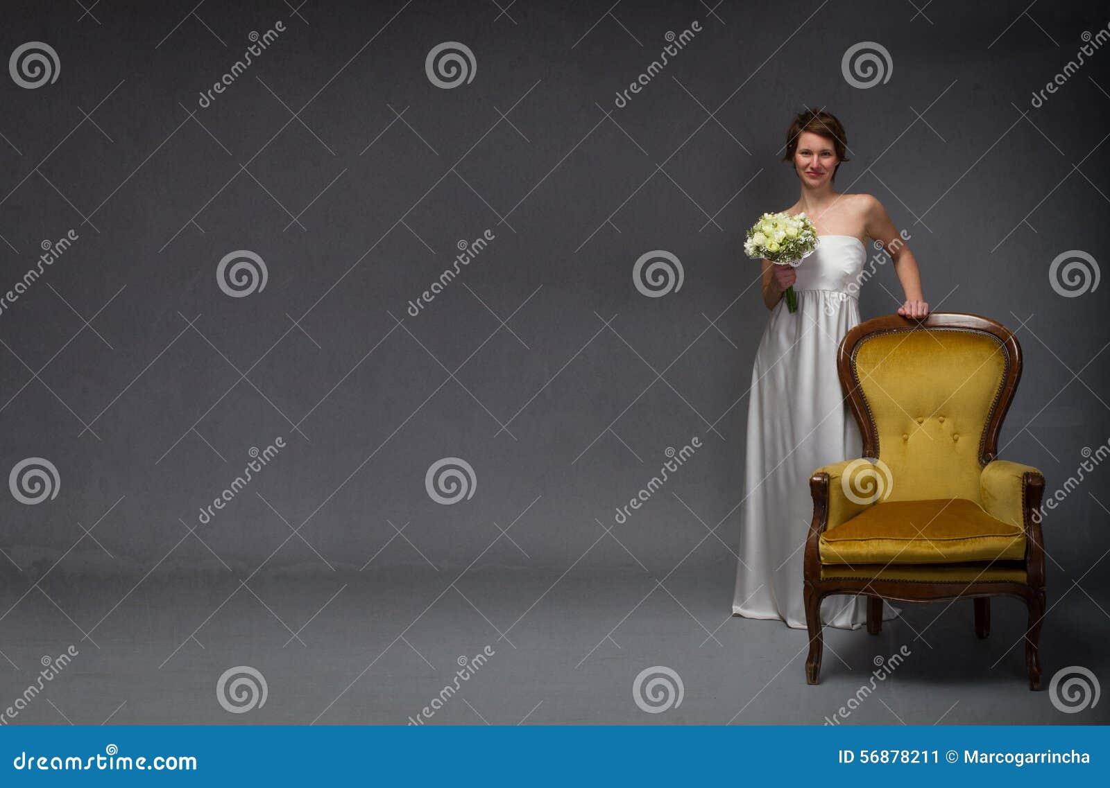 Condizione e sorridere della sposa