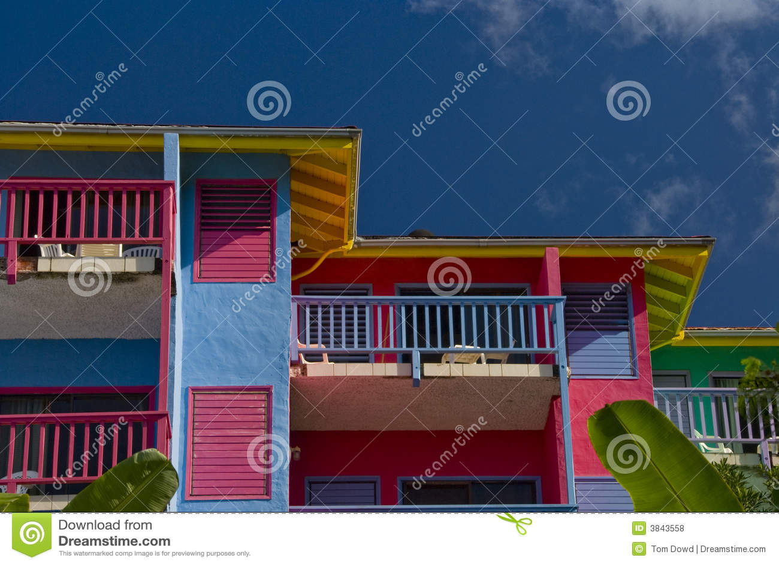 Condo villas at Leverick Bay