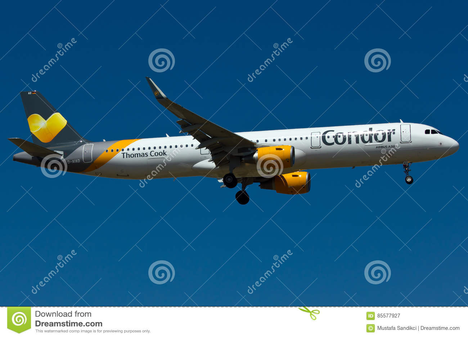 Condora321 Vliegtuig