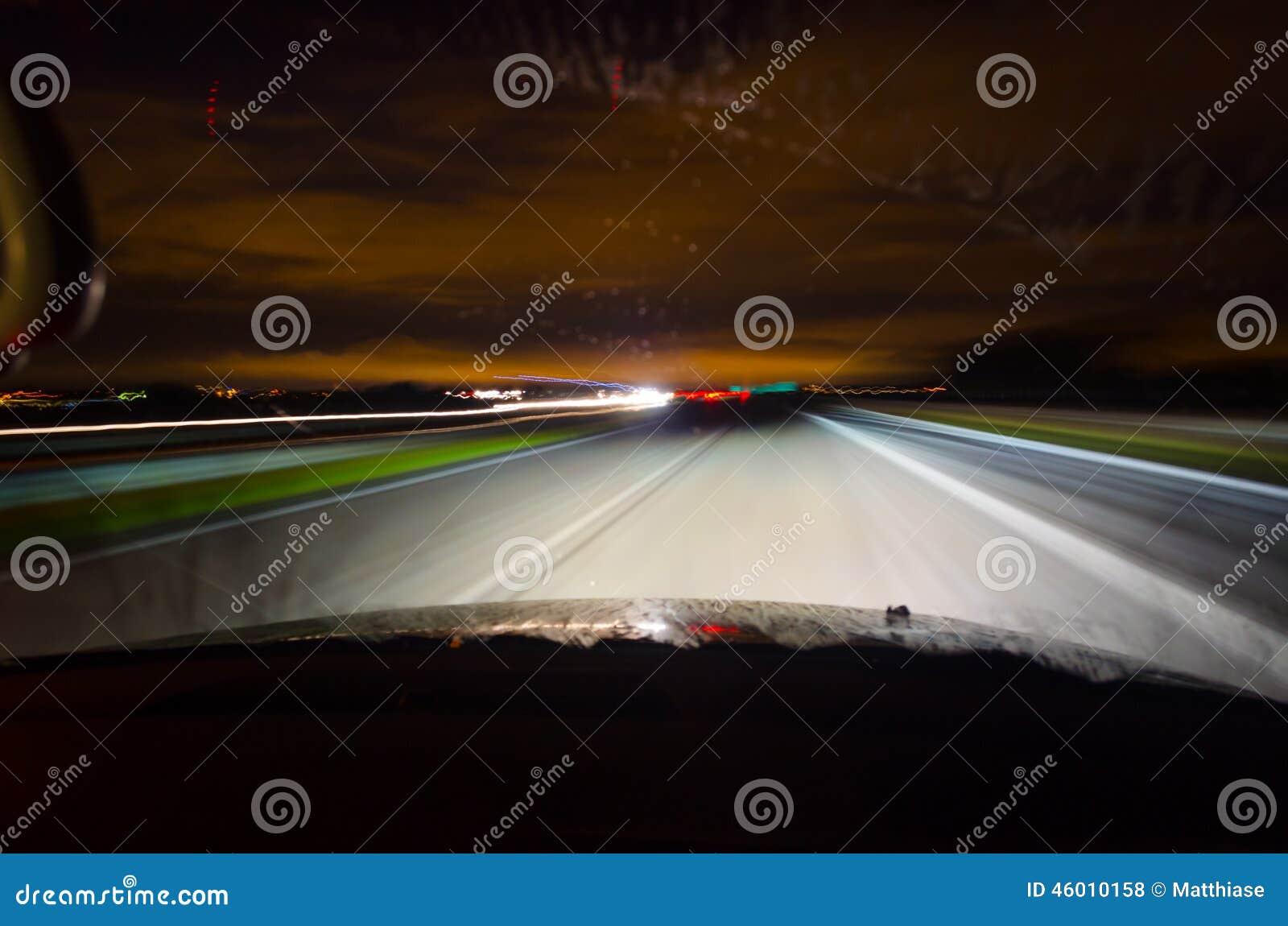 Conducción de la noche
