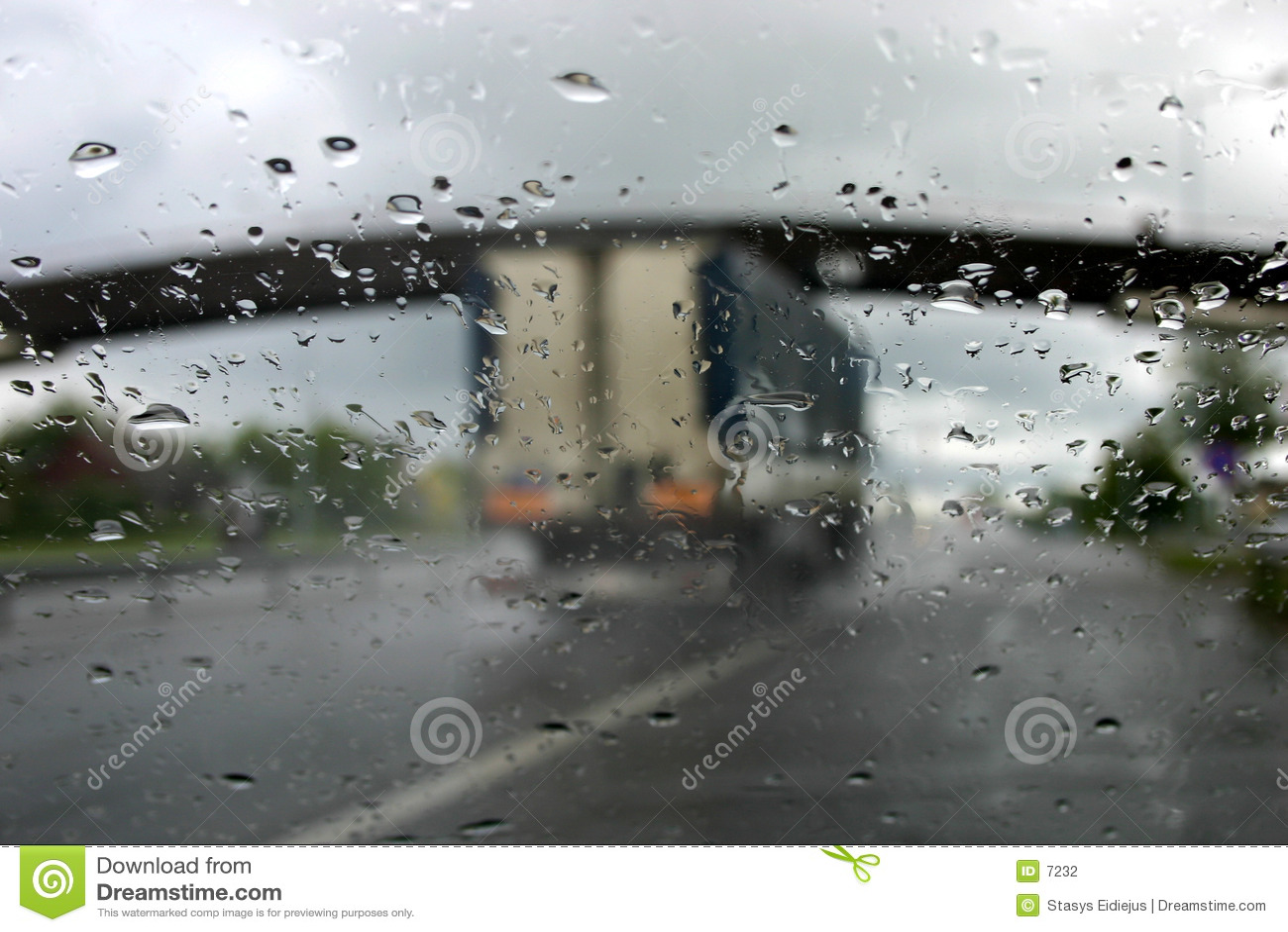 Conducción en la lluvia IV
