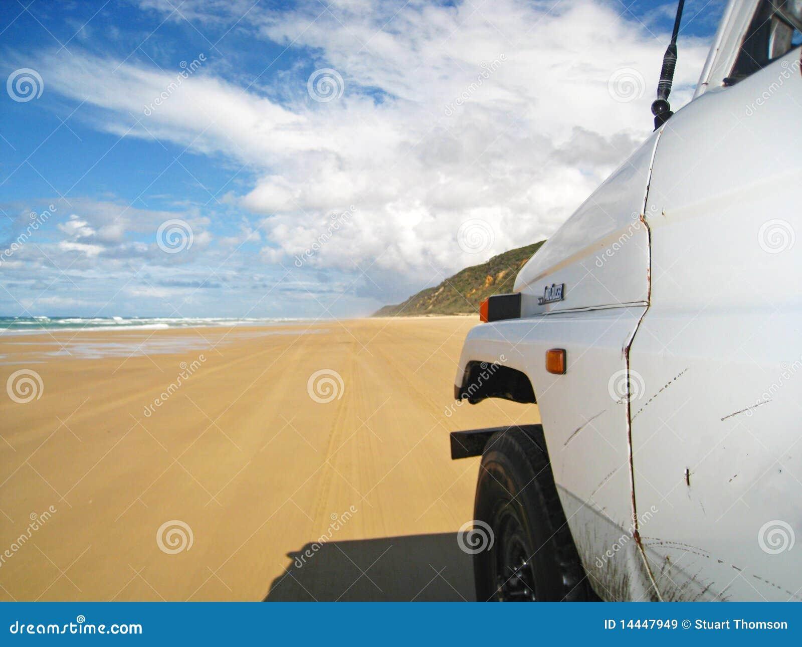 Conducción en la playa