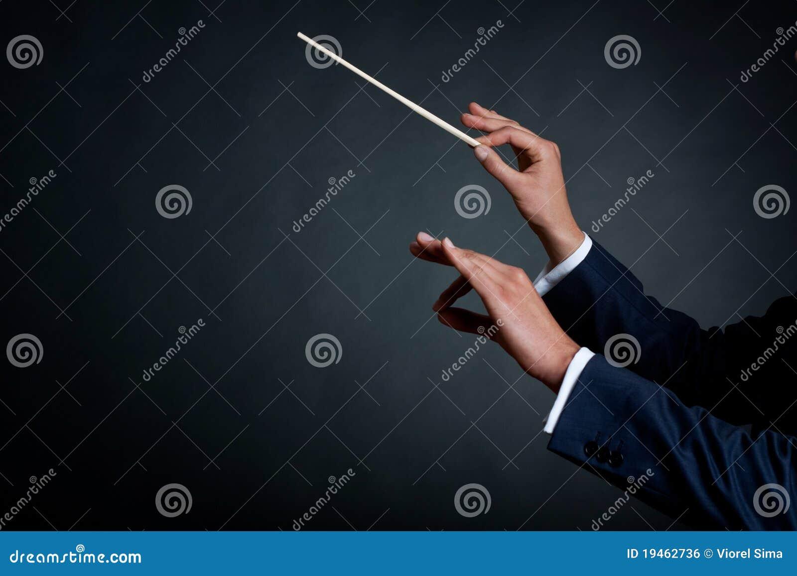 Conducteur d orchestre mâle