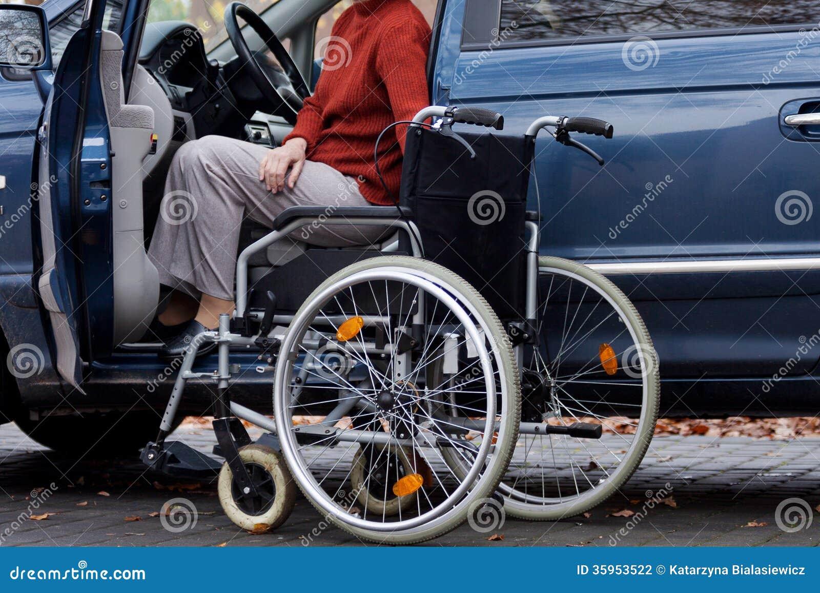 Conductor discapacitado