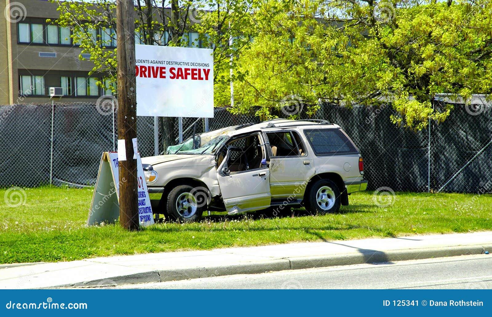 Conduza com segurança