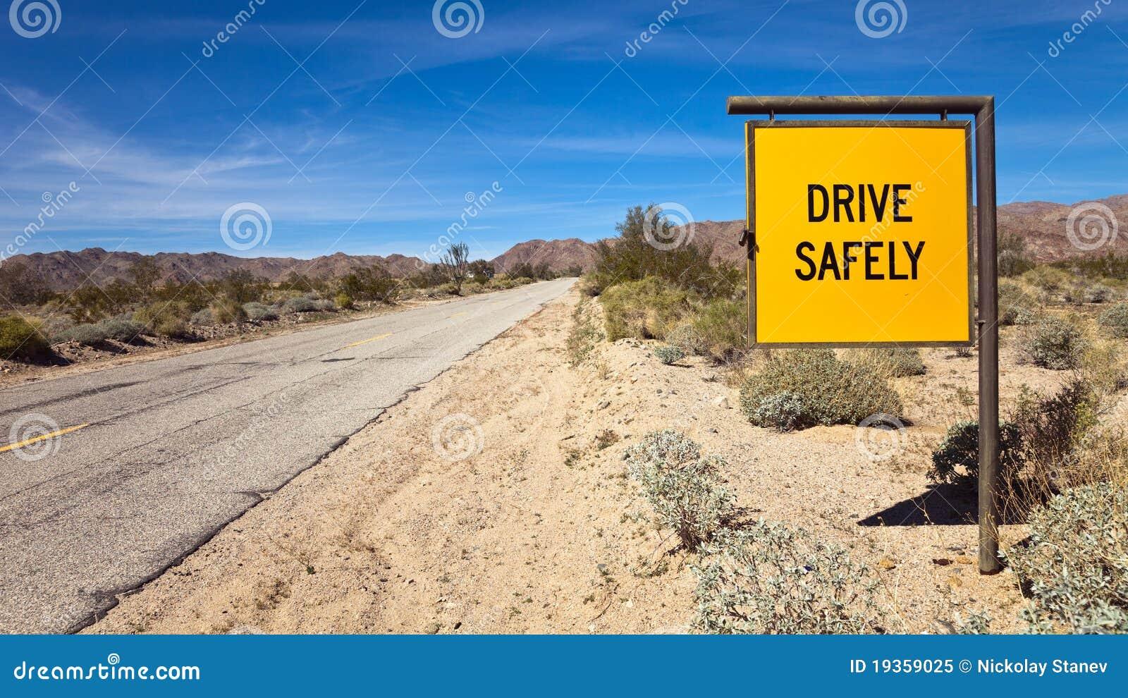 Conduza com segurança o sinal
