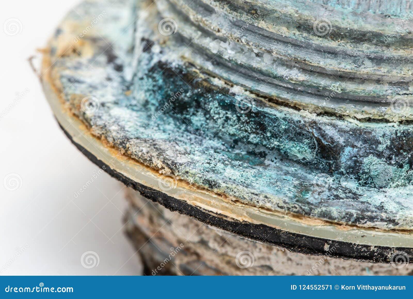 Conduza a corrosão e o sulfato de cobre oxidados do mineral da água