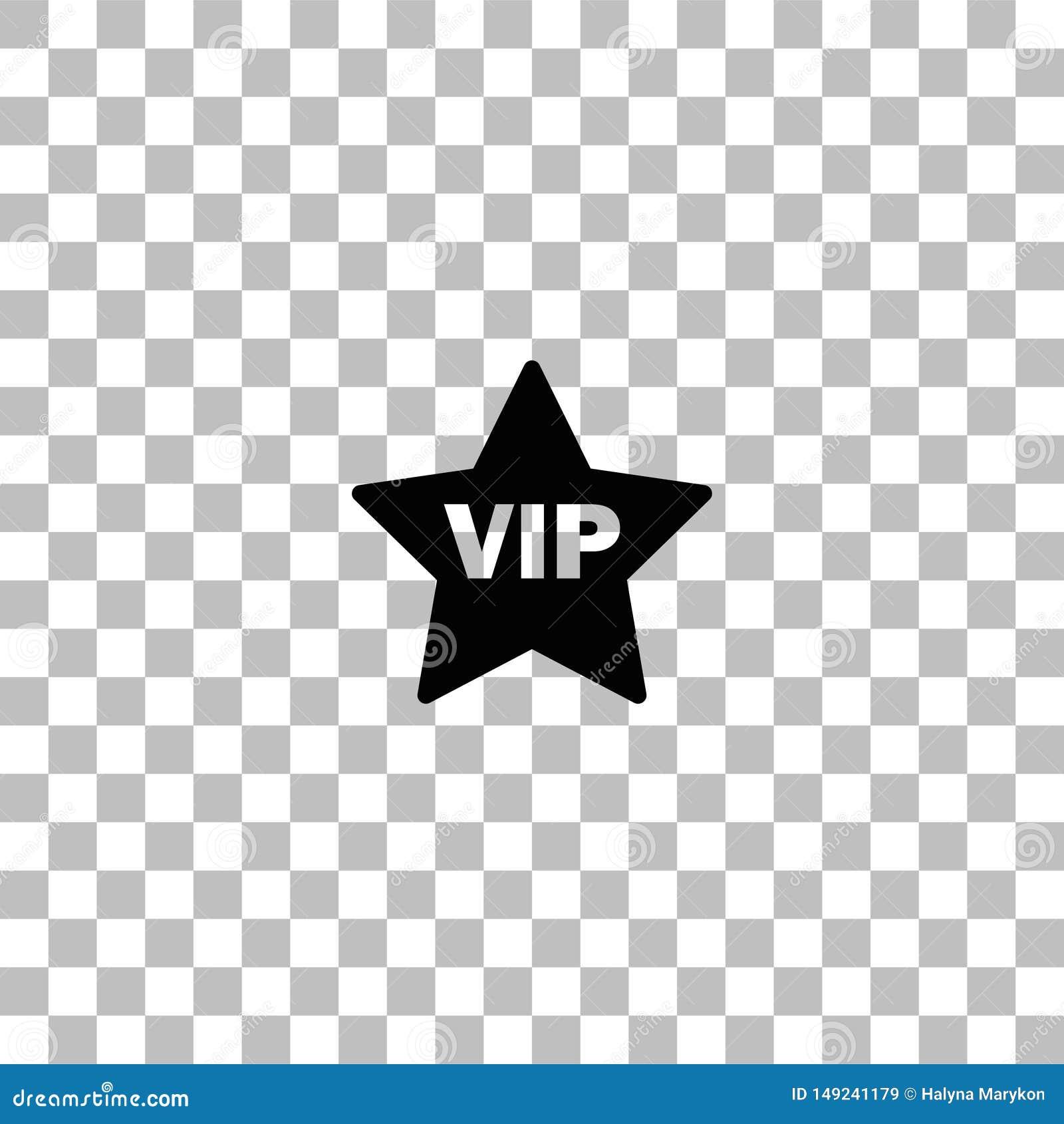 ?cone da estrela do Vip horizontalmente