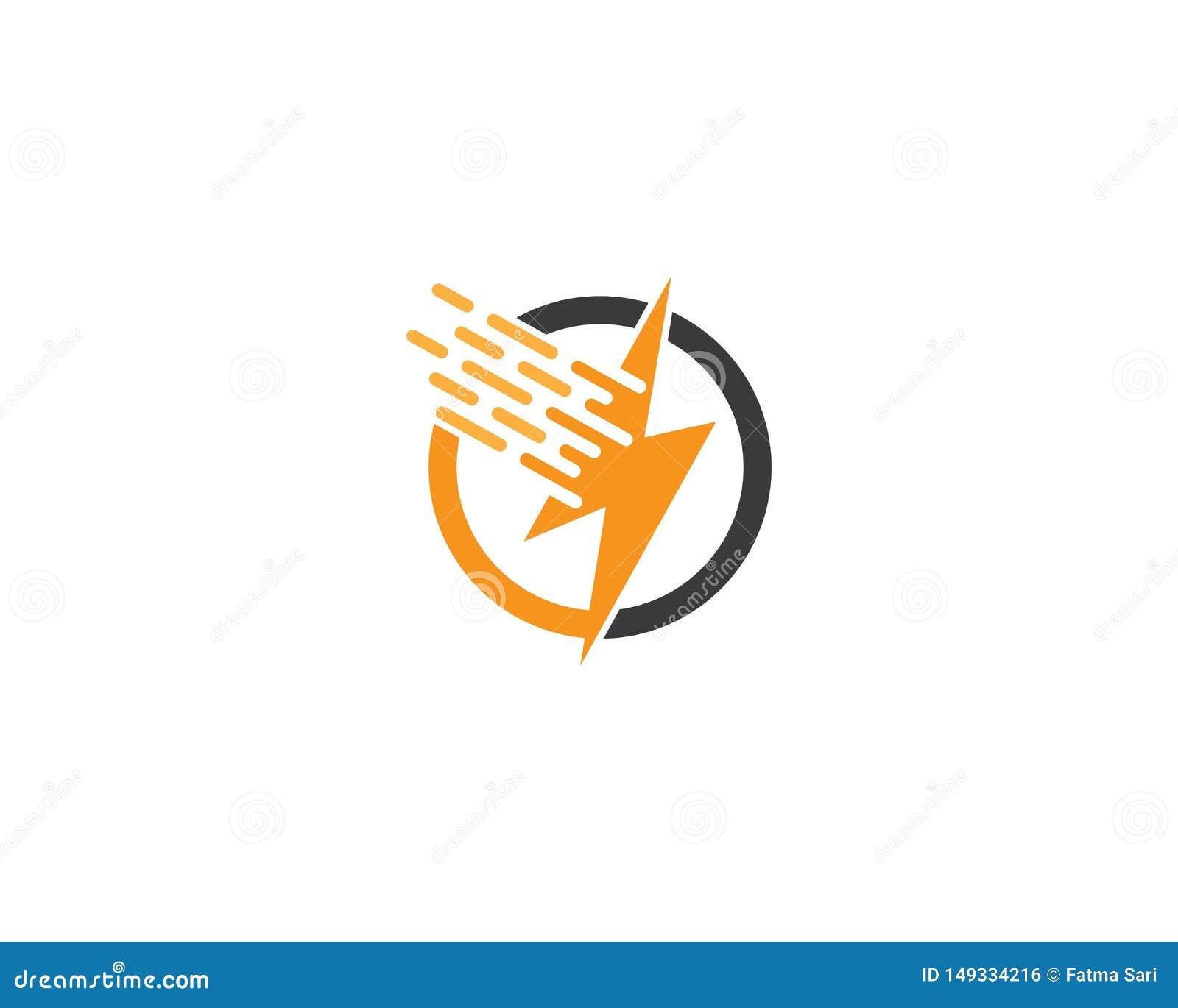 ?cone do logotipo do raio