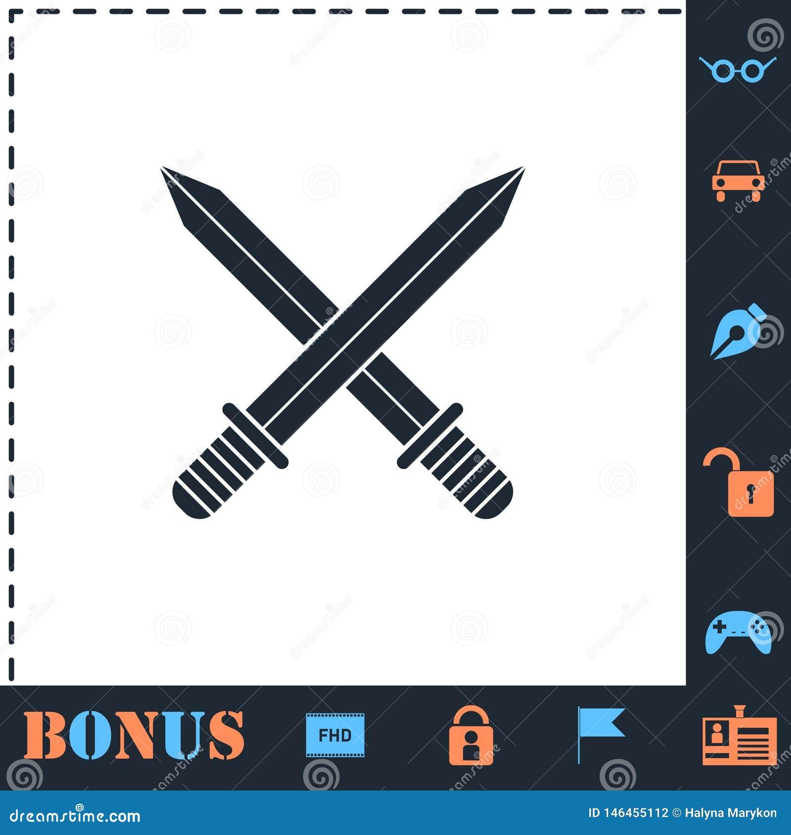 ?cone transversal das espadas liso