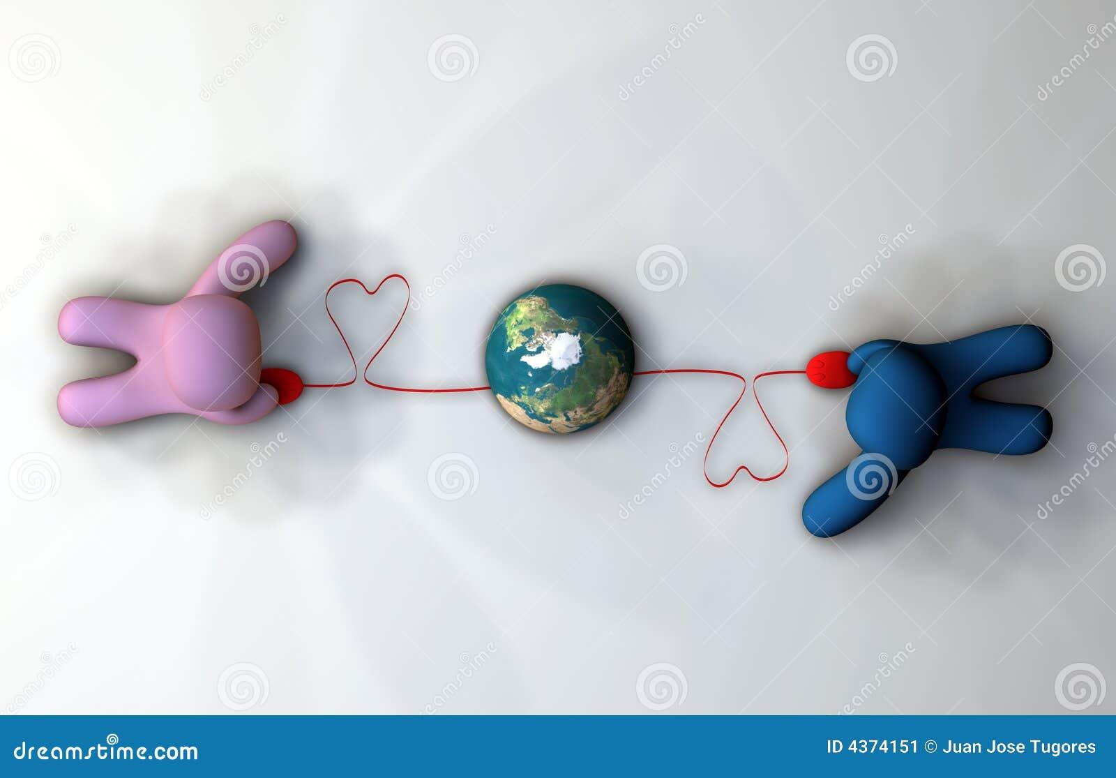 Conectado através do mundo