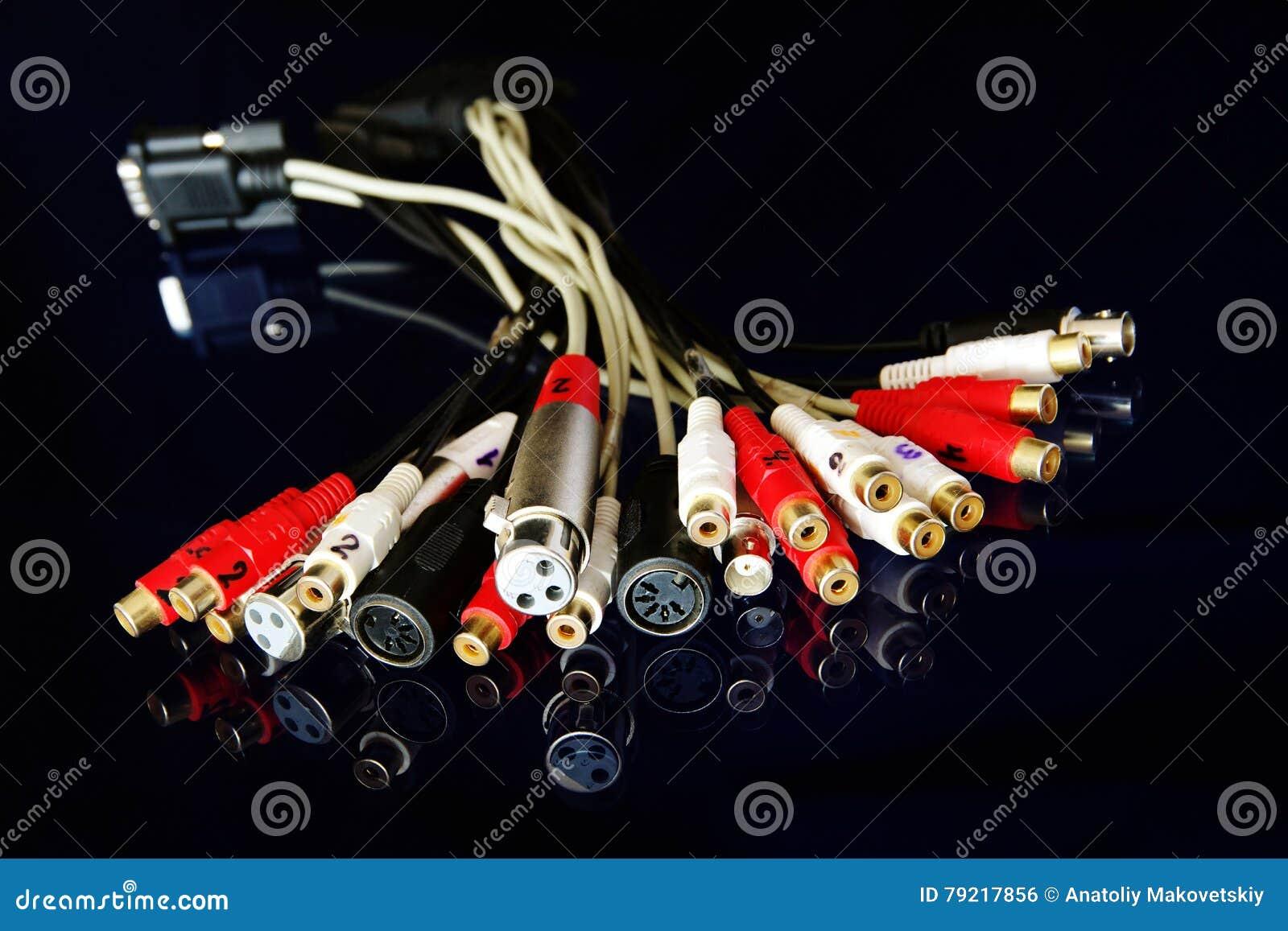 Conectores audio