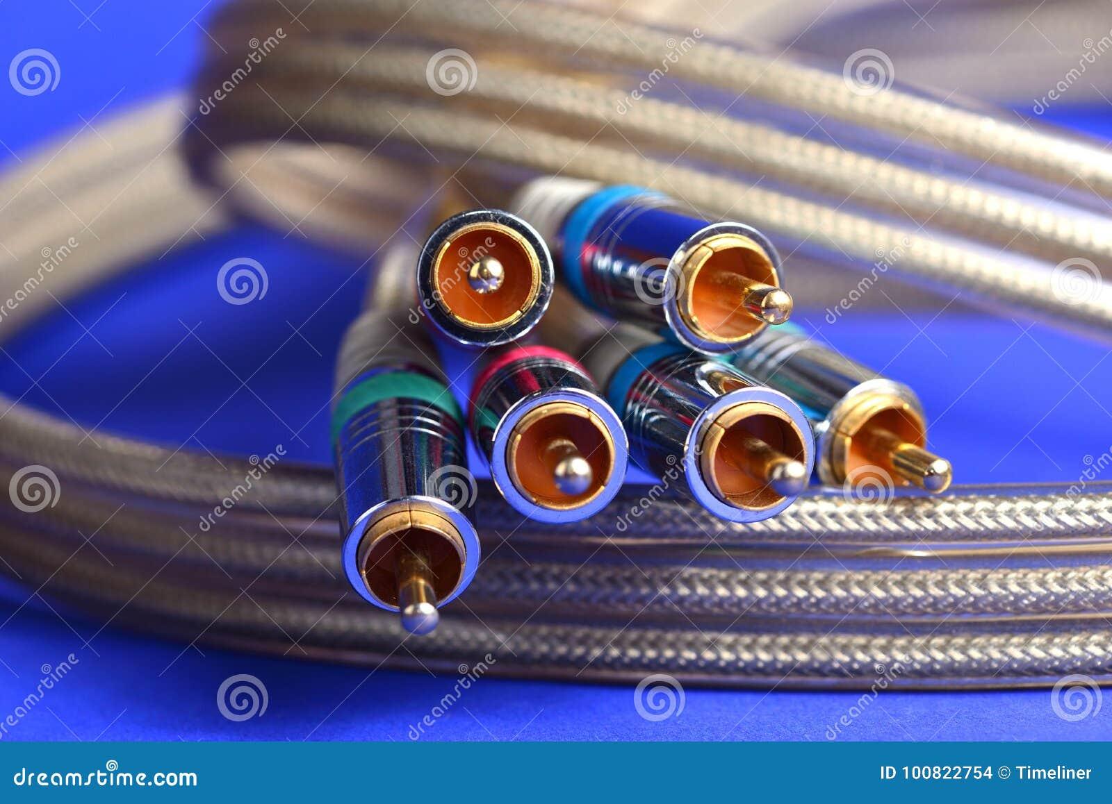 Conectores audio video
