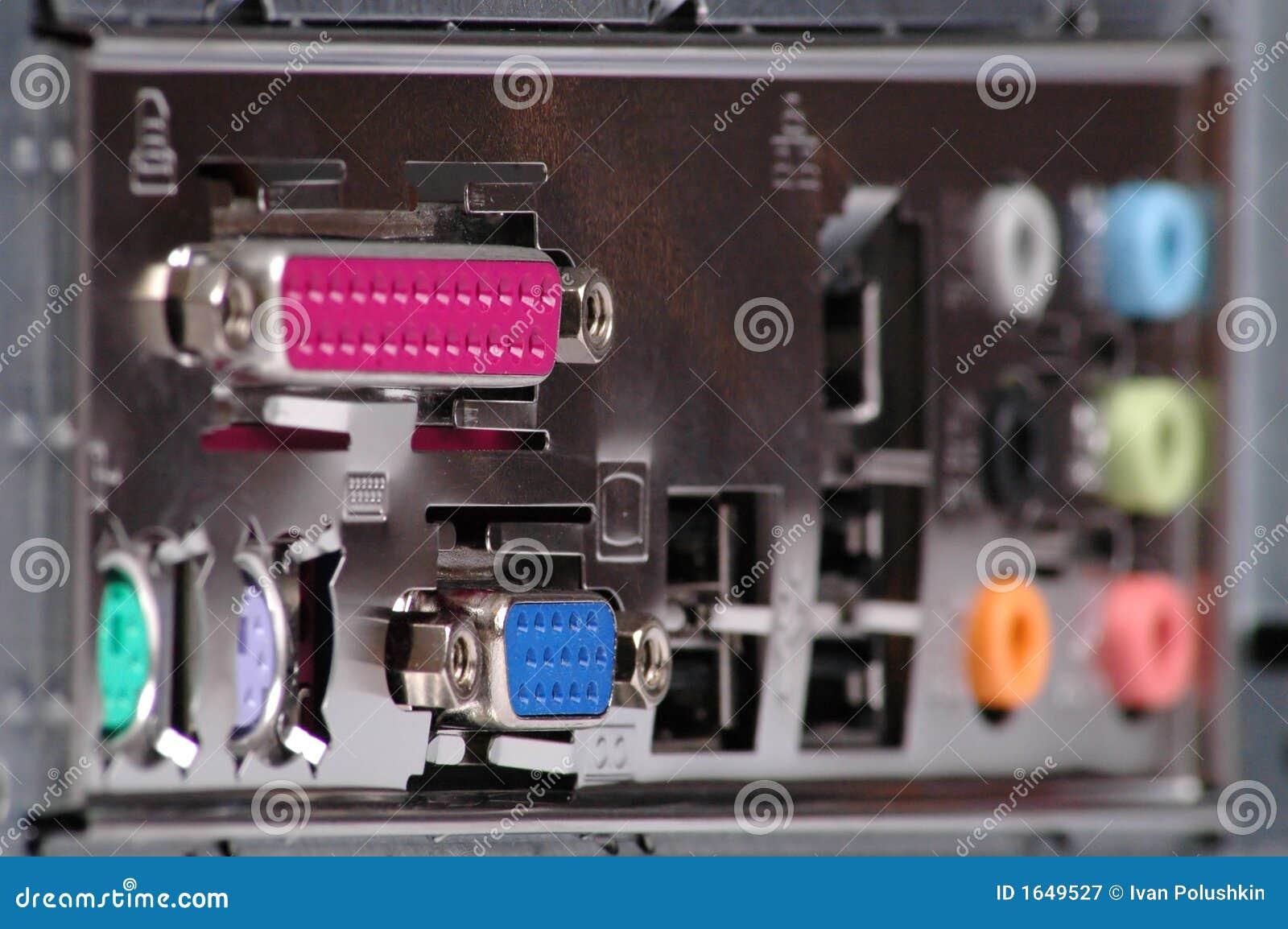 Conectores do computador