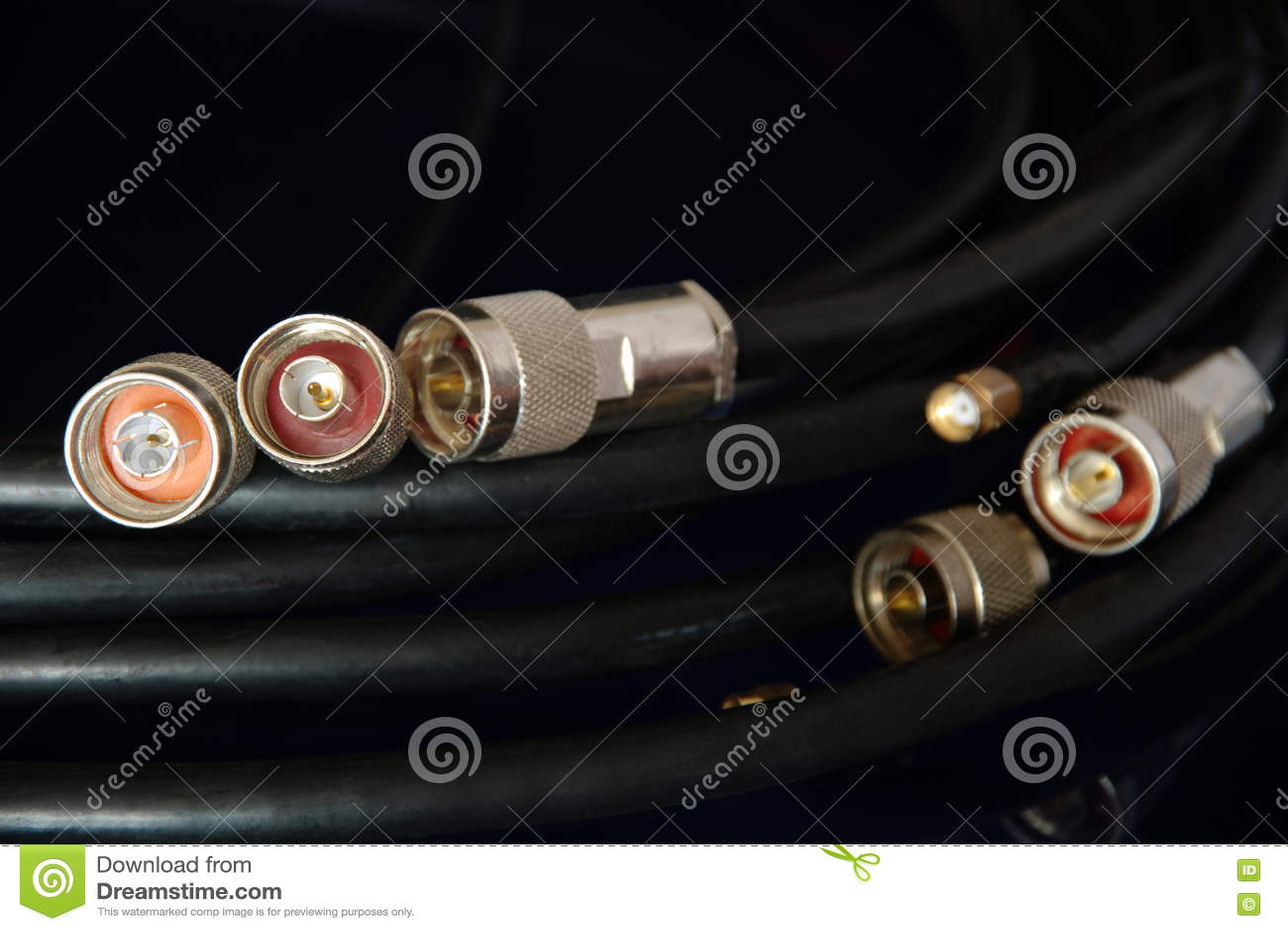 Conectores do RF