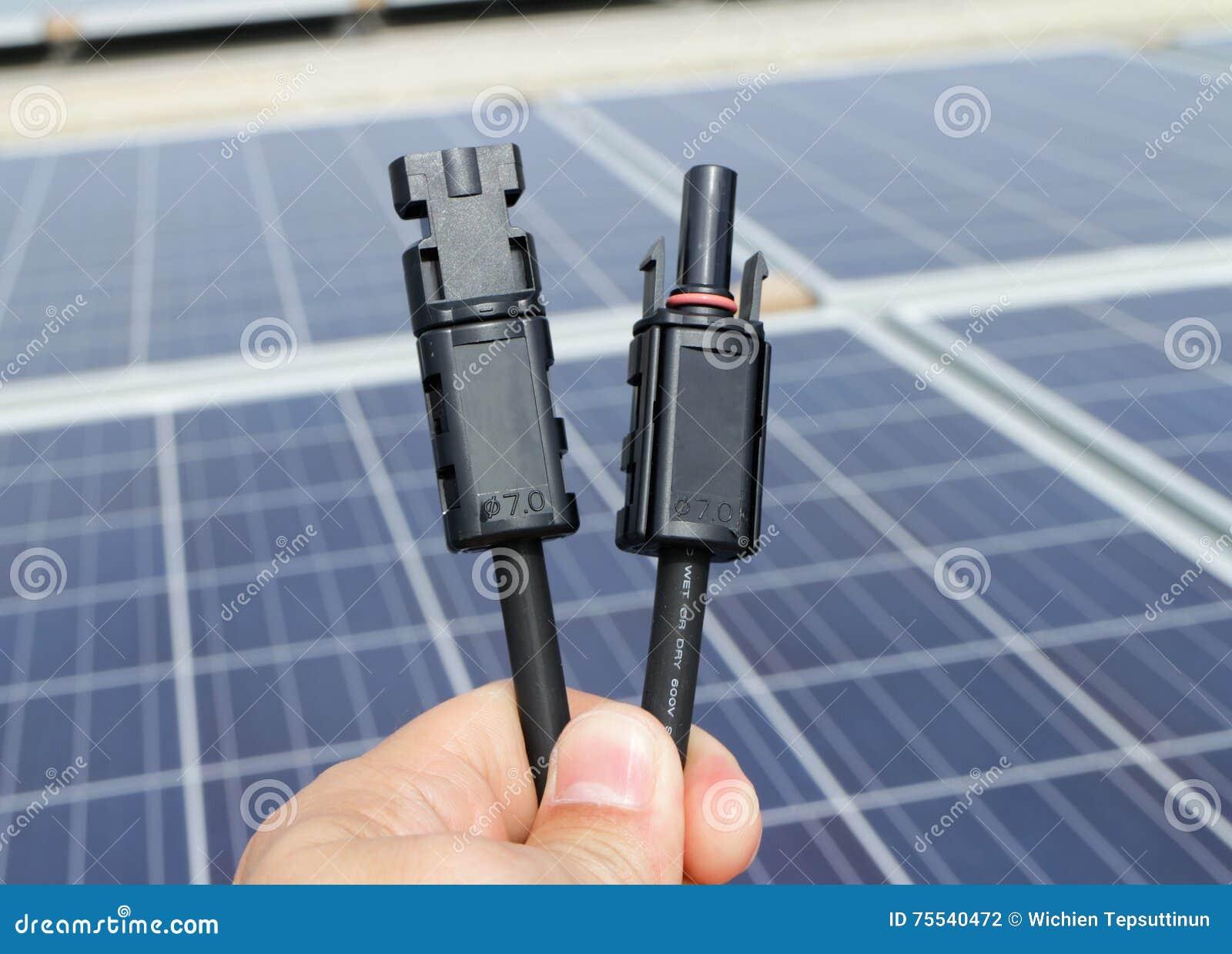 Conectores solares do picovolt