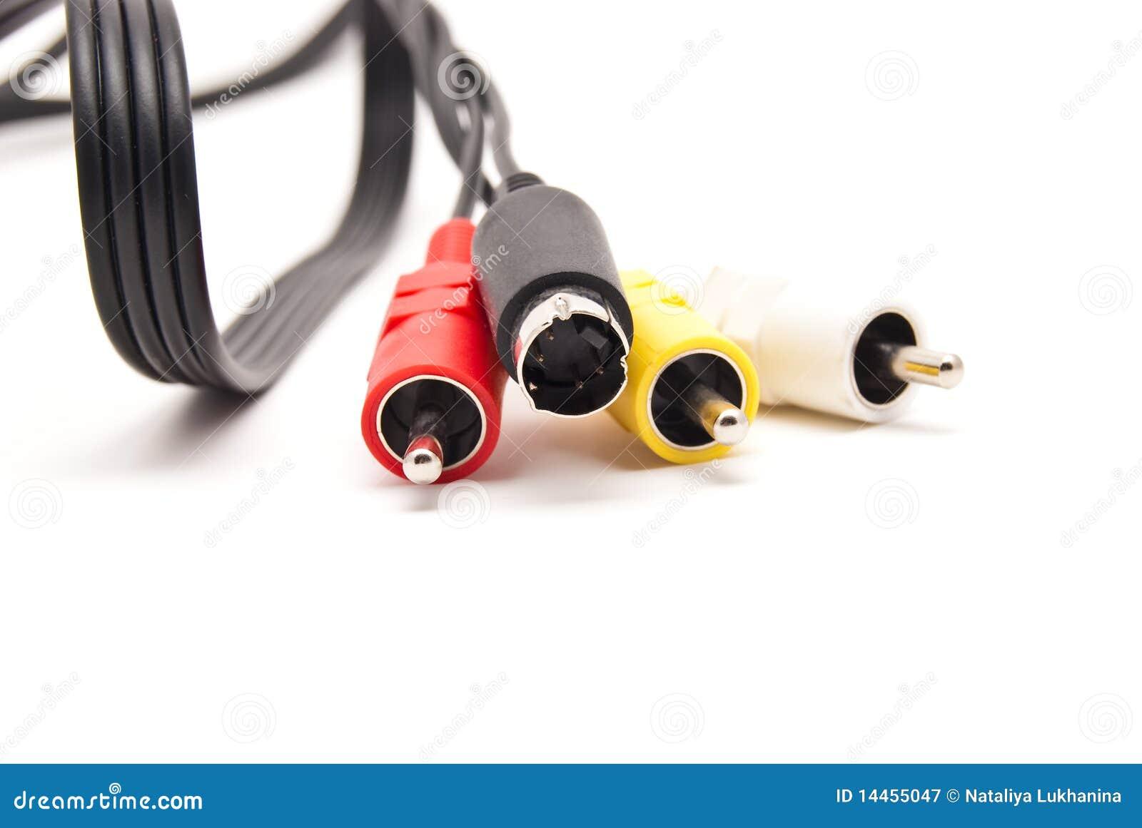Conectores video e audio
