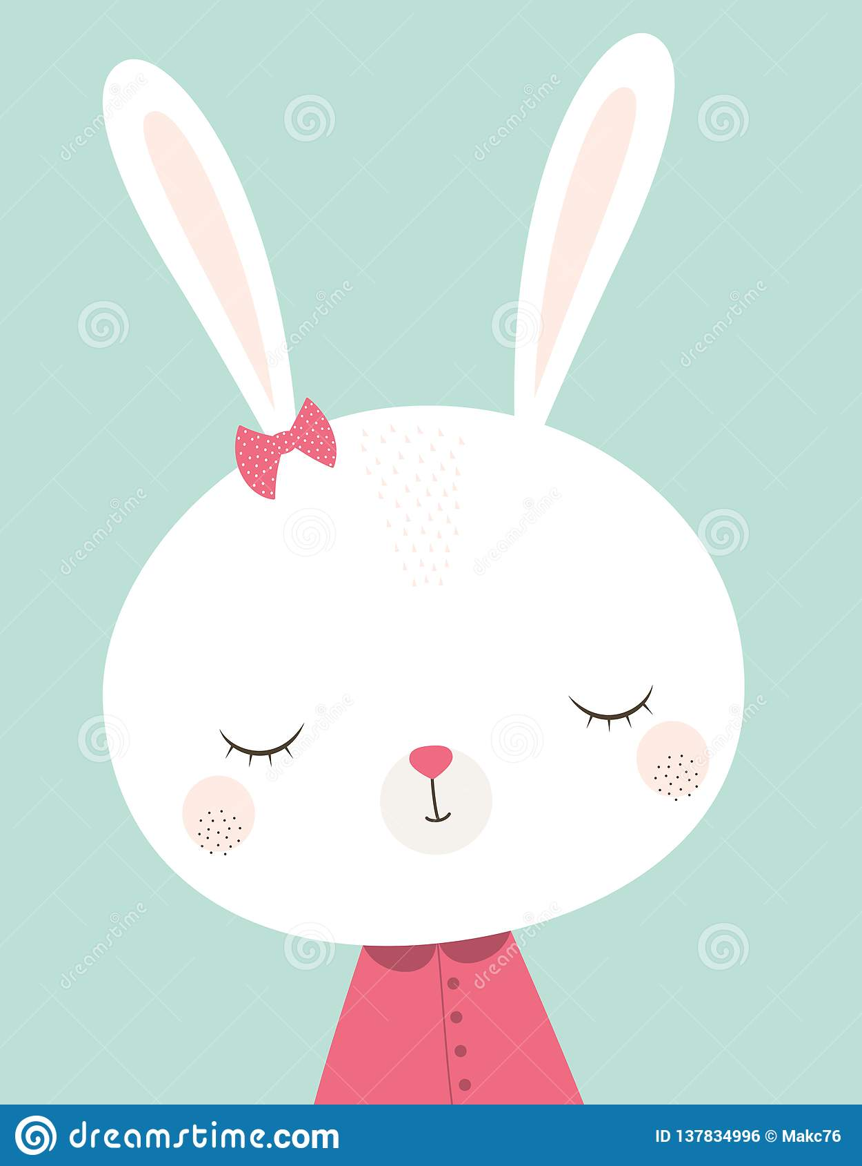 Conejo de conejito lindo