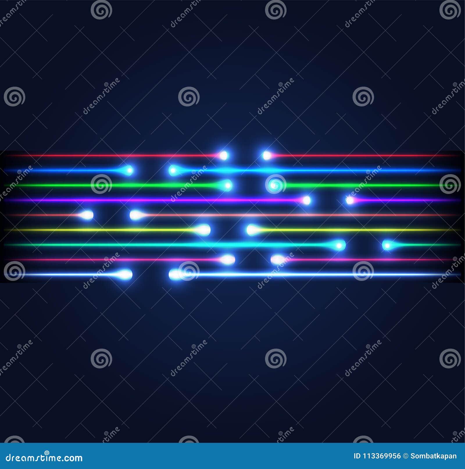 Conexão da fibra ótica