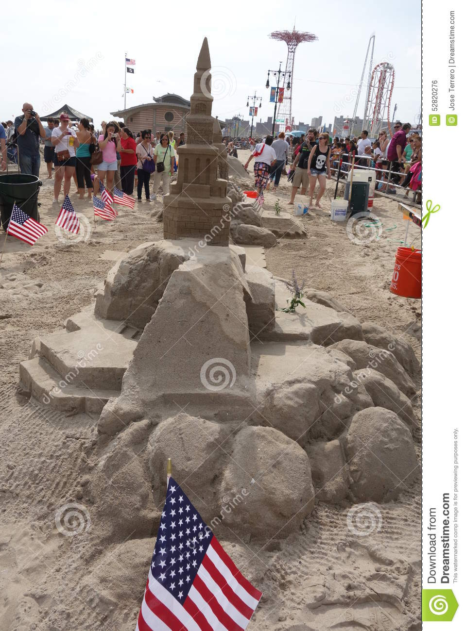 Coney Island Sand Sculpting
