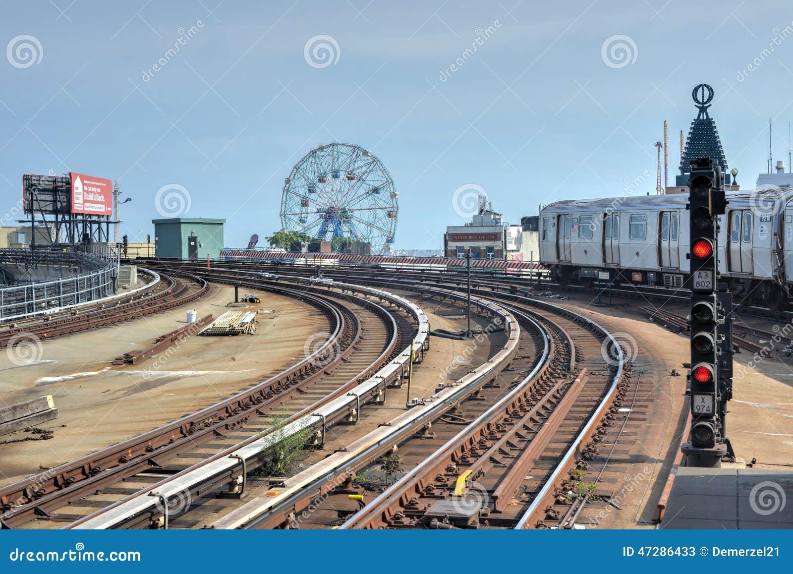 Coney Island Yard Brooklyn Ny