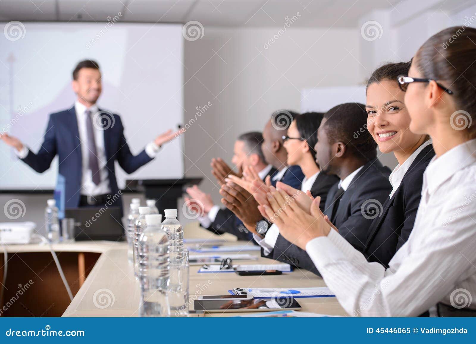 Conférence d affaires