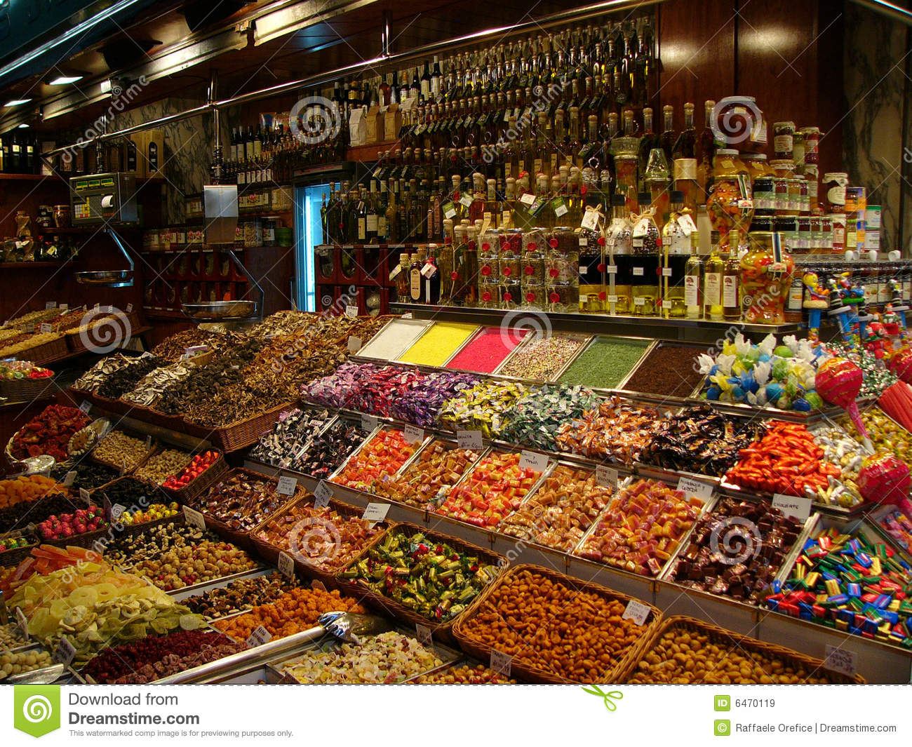Confectionery Stall Royalty Free Stock Images - Image: 6470119