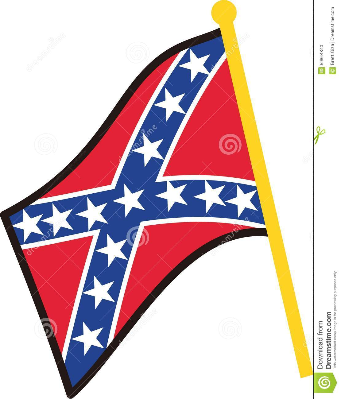 Stock Quote Southern Company: Stock Photo: Confederate Flag. Image: 59864840