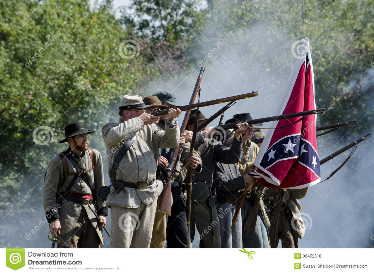 difference between union and confederate soldiers