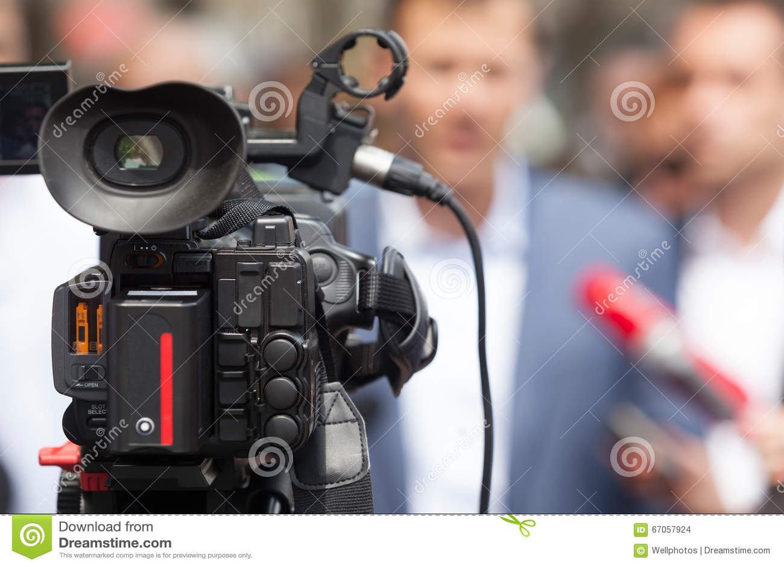 Conferência de imprensa Entrevista dos meios spokesperson