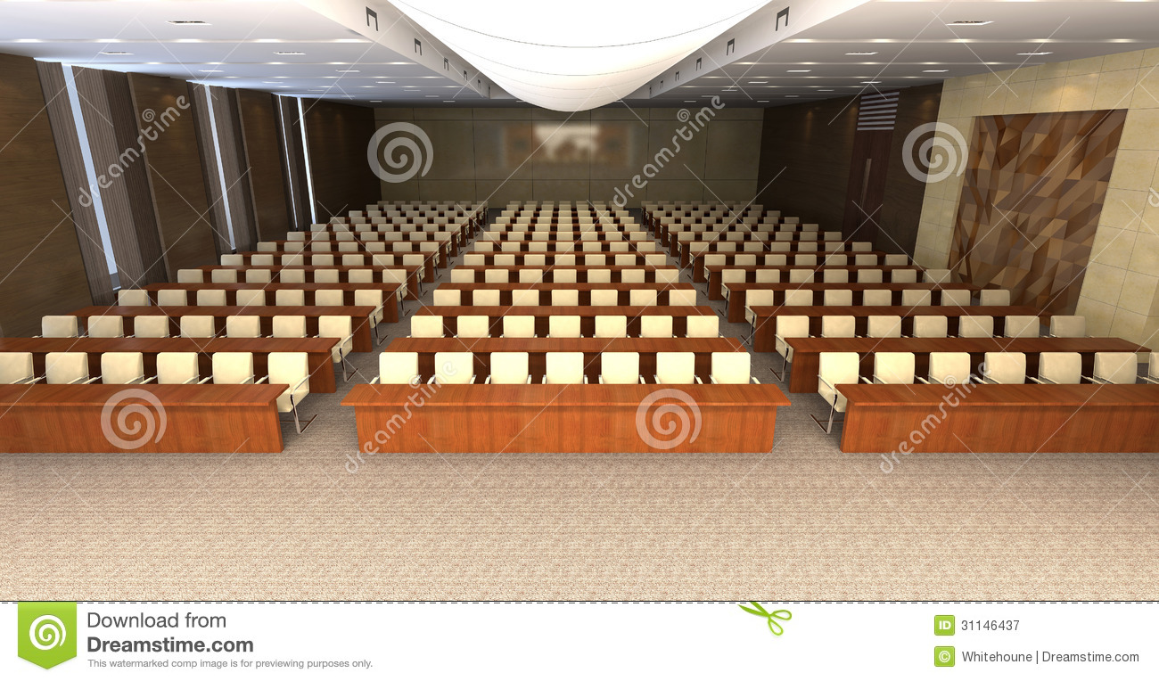 Conference Hall Royalty Free Stock Photography Image