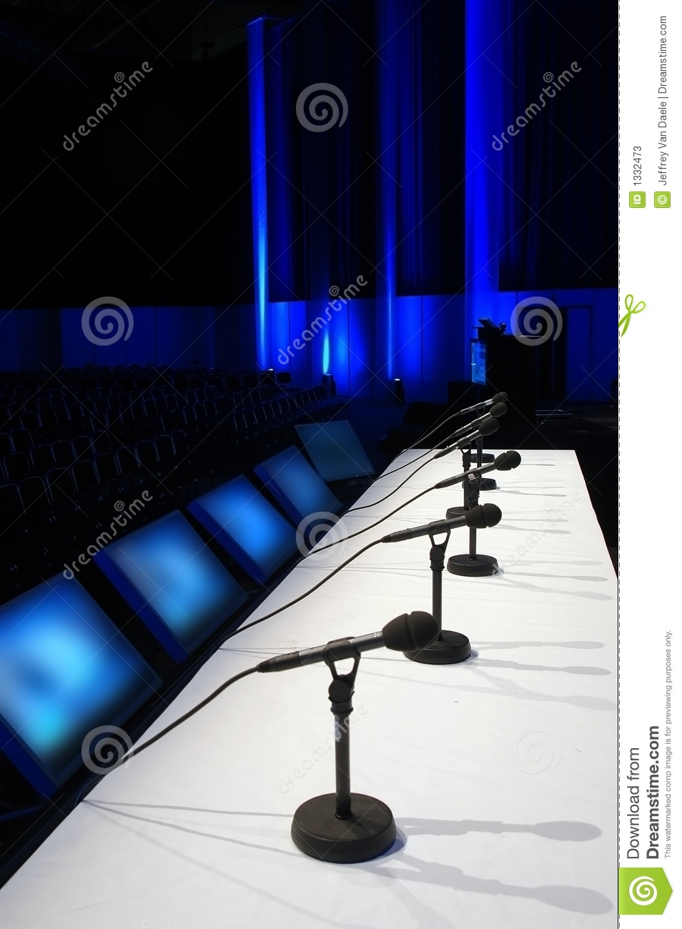 Blue Conference Room Microphones Web
