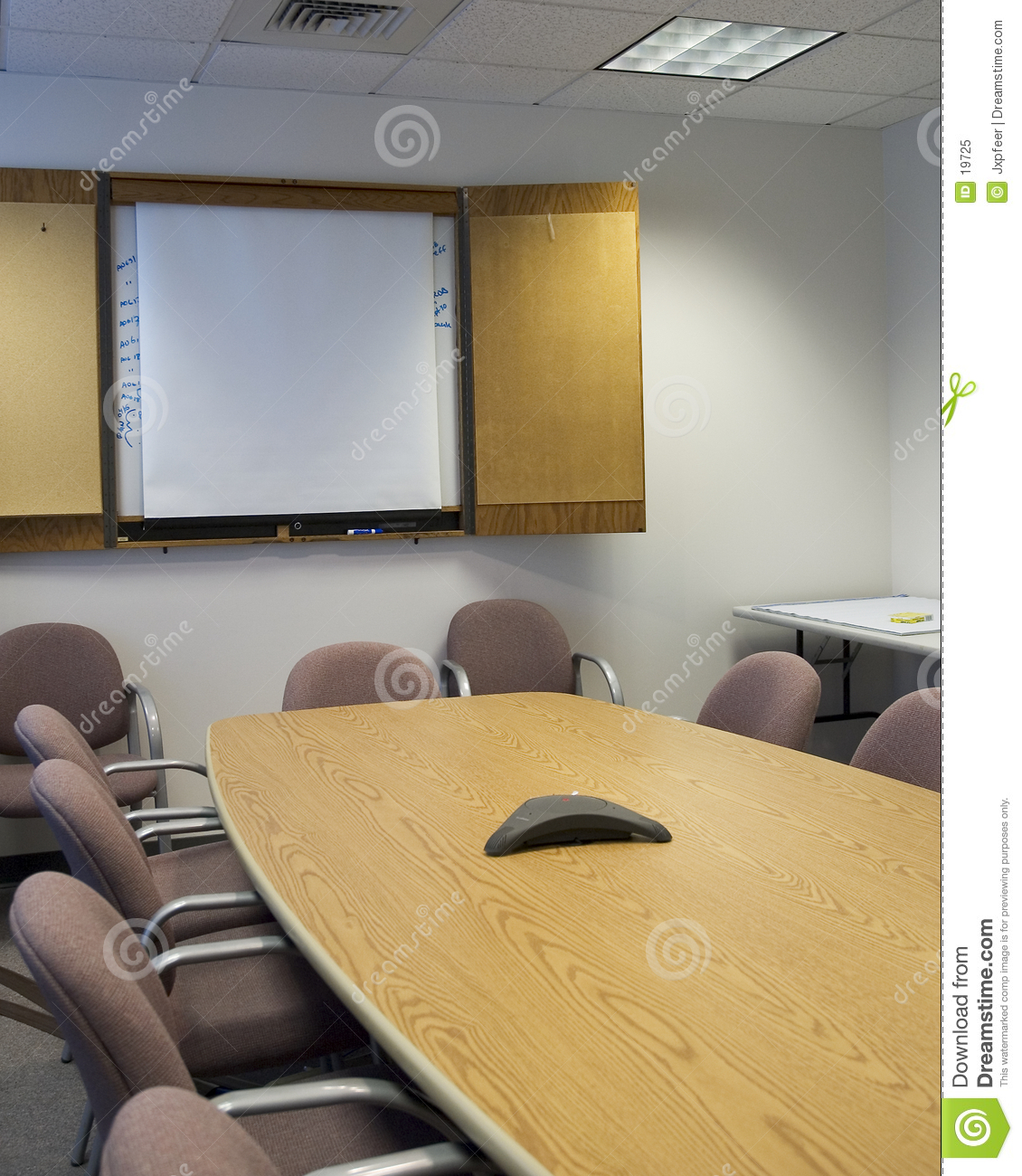 Conference Room Stock Image Image Of White Wood