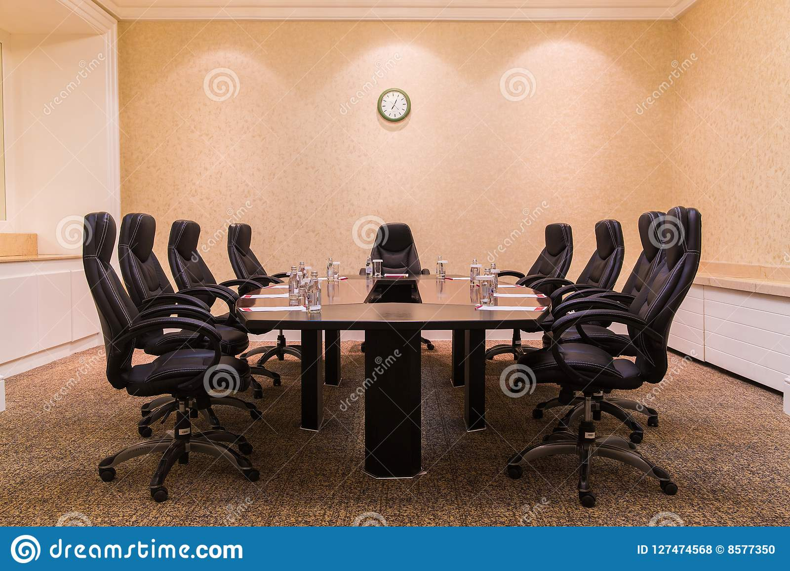 Peachy Conference Room For Business Meetings Stock Photo Image Of Spiritservingveterans Wood Chair Design Ideas Spiritservingveteransorg
