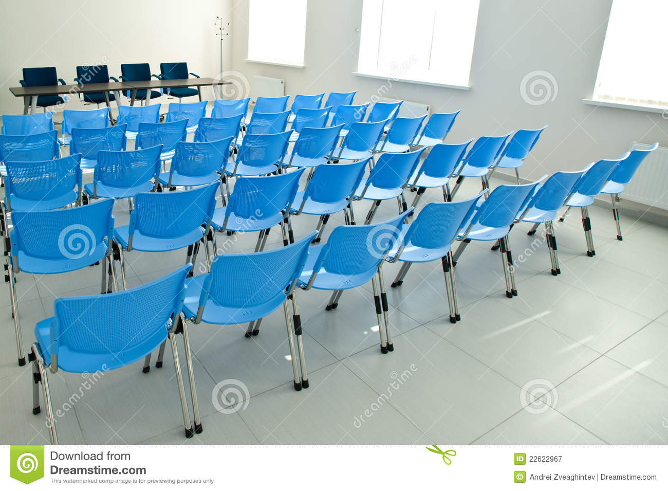Empty chair in room - Royalty Free Stock Photo Download A Conference Room With Empty Chairs