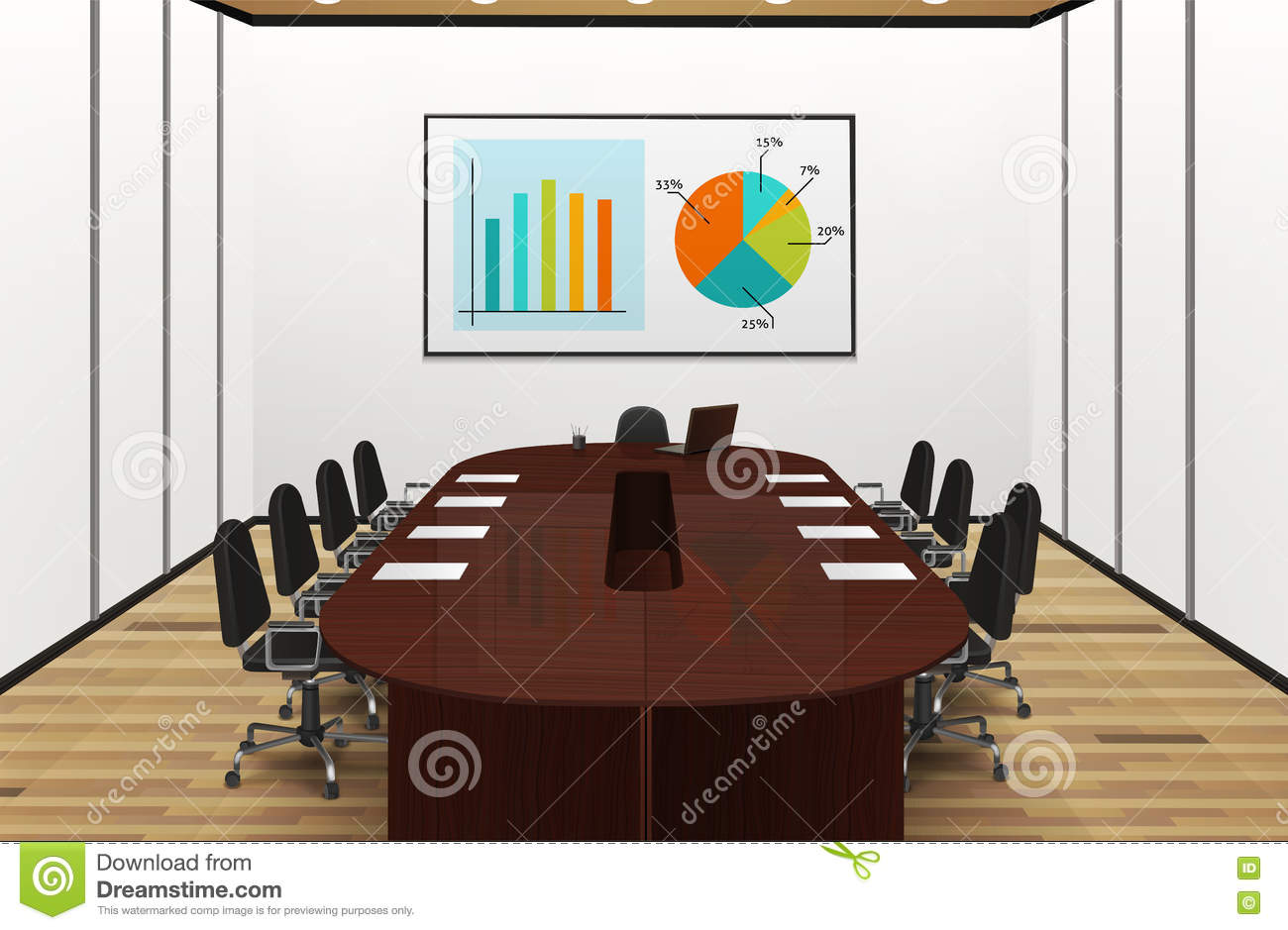 What Floor Is The Oval Office On Light Conference Room Royalty Free Stock Photo