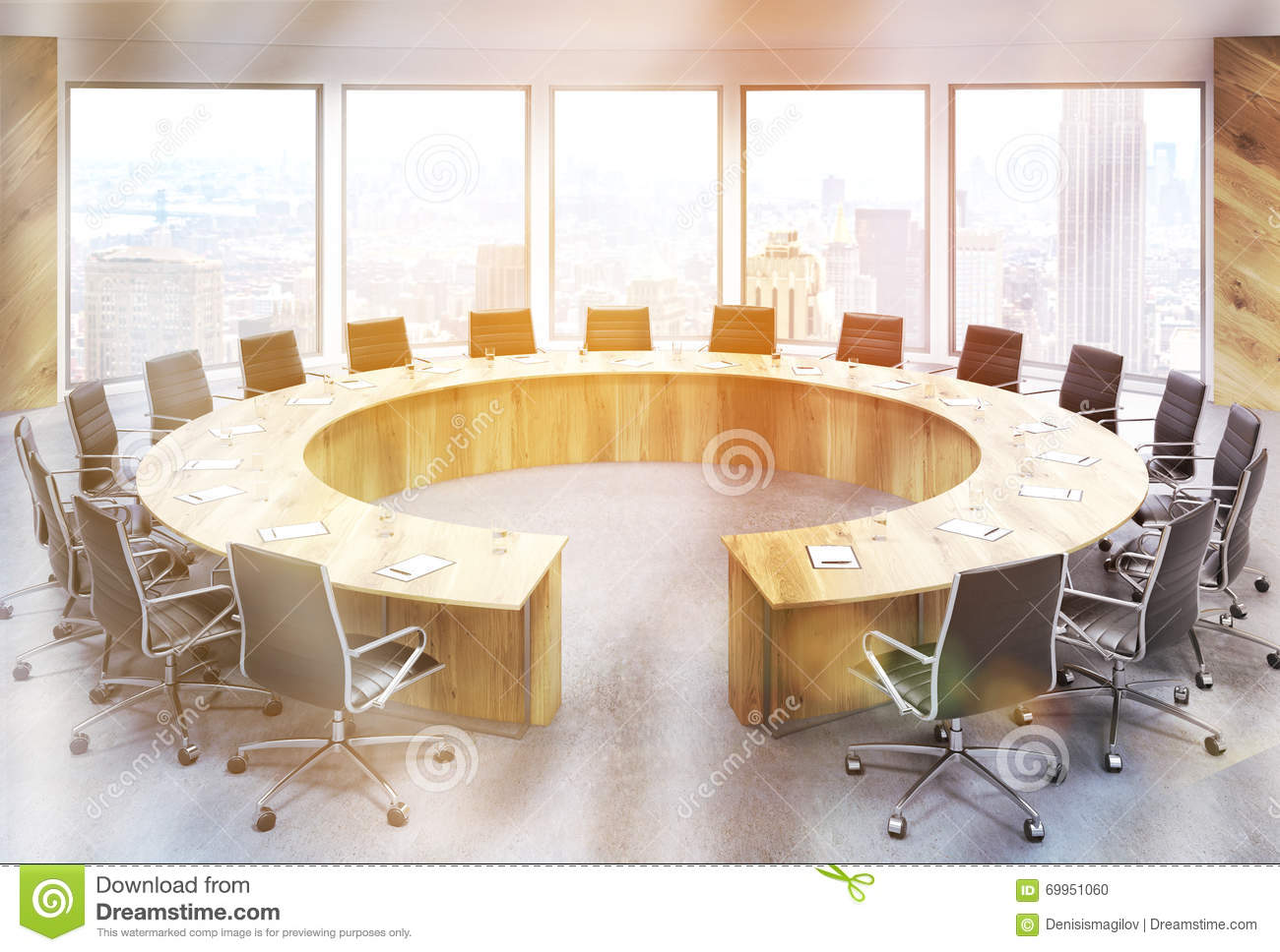 Download comp & Conference room NY toning stock illustration. Illustration of floor ...