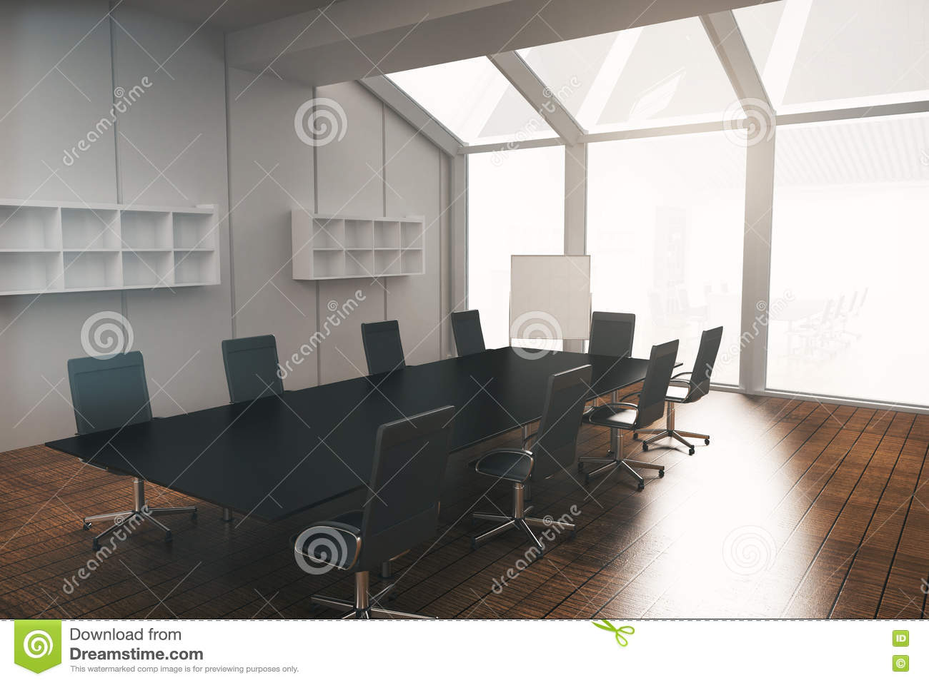 Rc Furniture Interior Design Stock Dealer ~ Interior with whiteboard and furniture royalty free stock