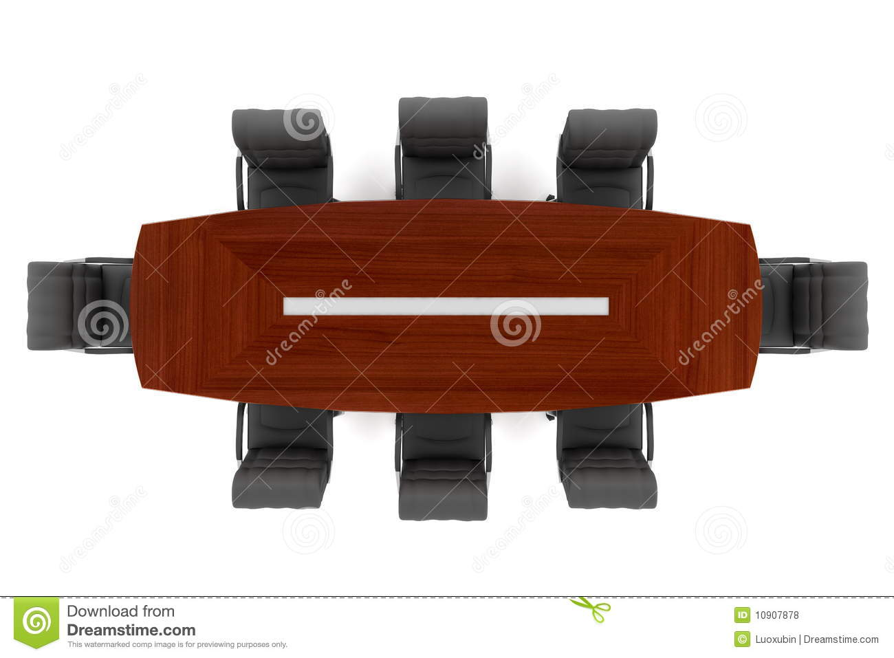 conference table and office chairs royalty free stock photos image