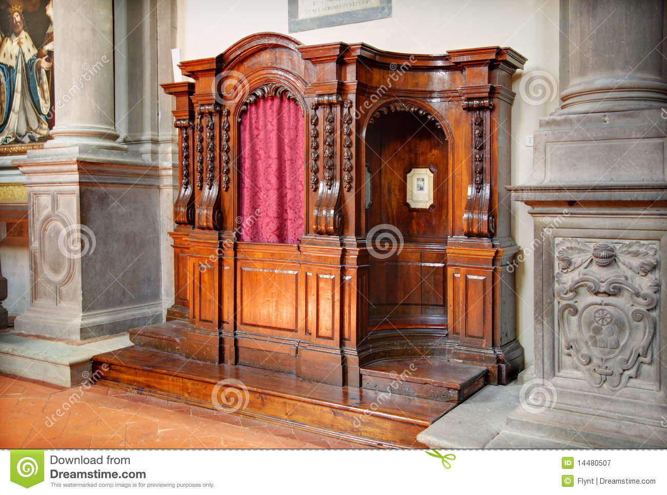 Confession Box Royalty Free Stock Photography - Image: 14480507