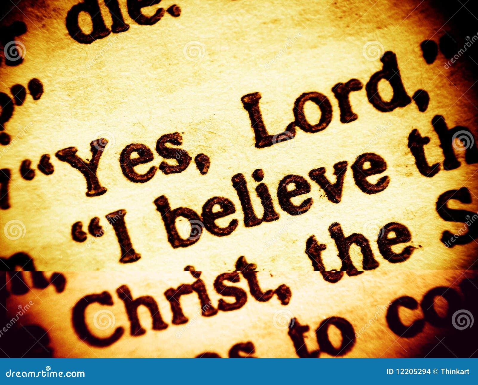 Confession de la foi