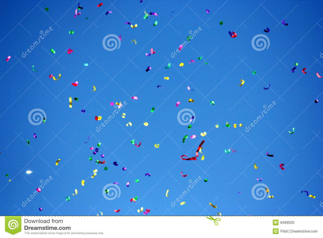 Download Confetti stock photo. Image of lots, celebration, abstract - 8499020