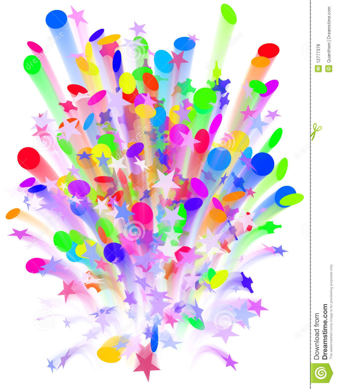 Confetti Carnival Explosion Royalty Free Stock Photos - Image ...