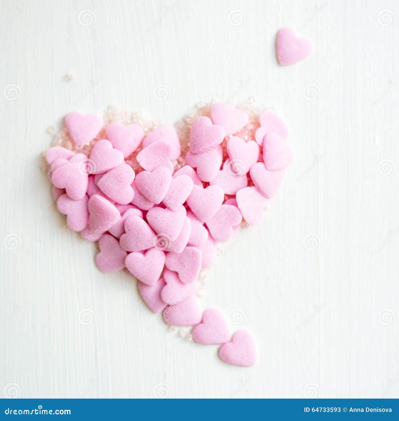 Confetti Kropi w postaci serca